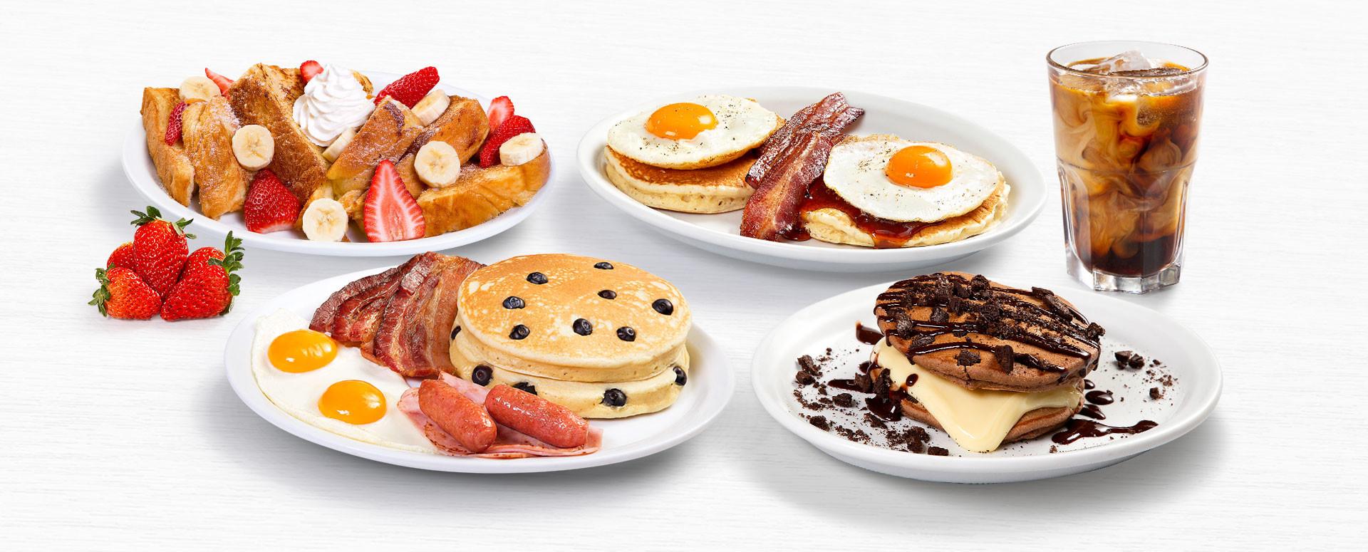 Achapa Hamburgers Breakfast