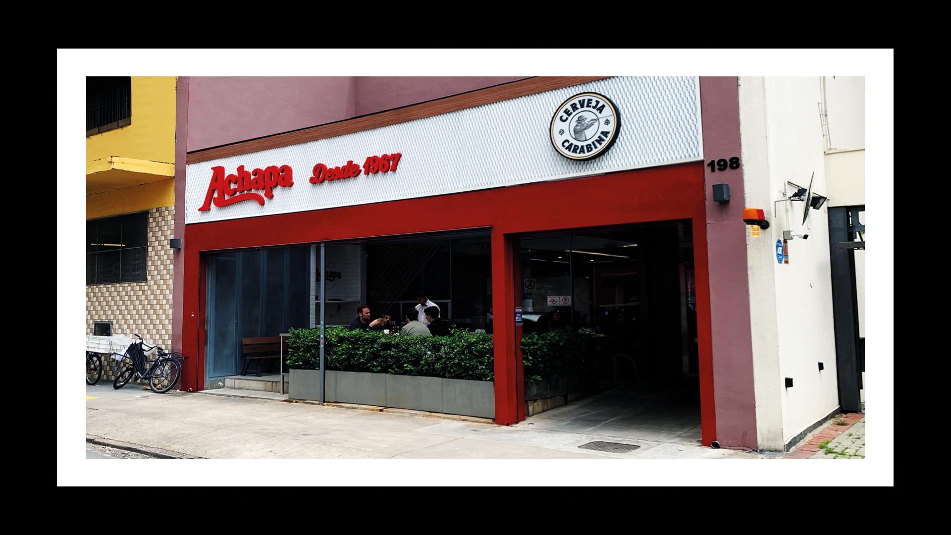 Achapa Hamburgers Lojas
