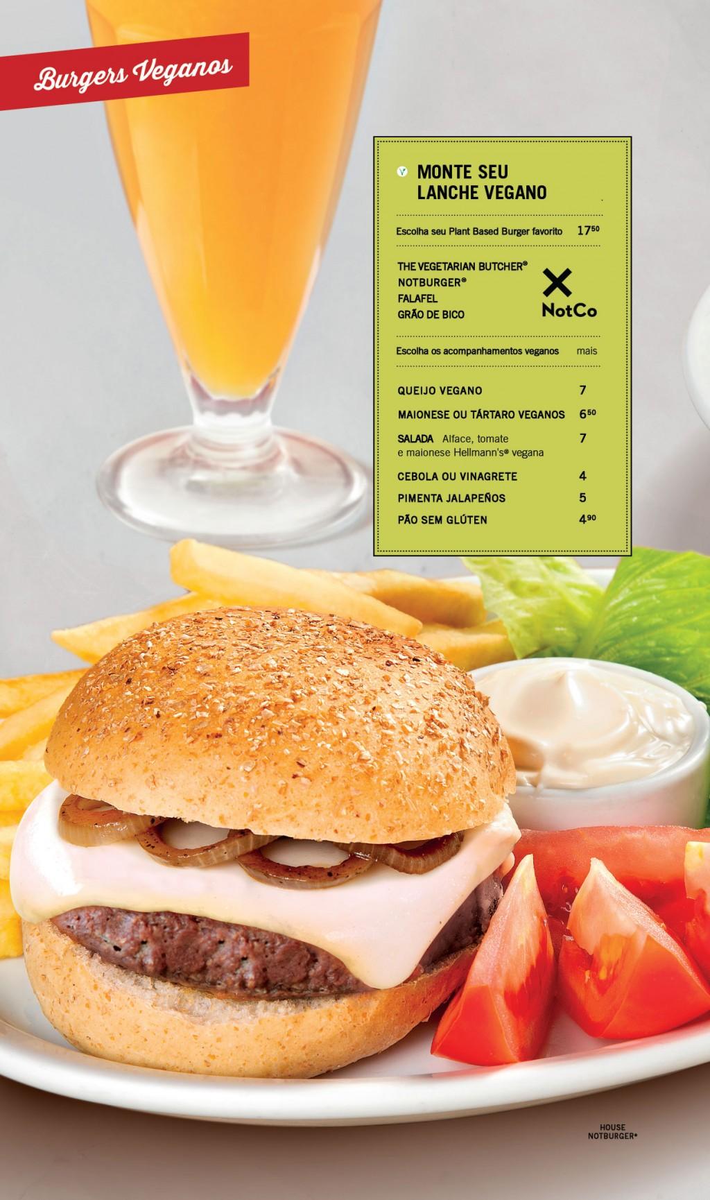 Achapa Hamburgers Cardápio
